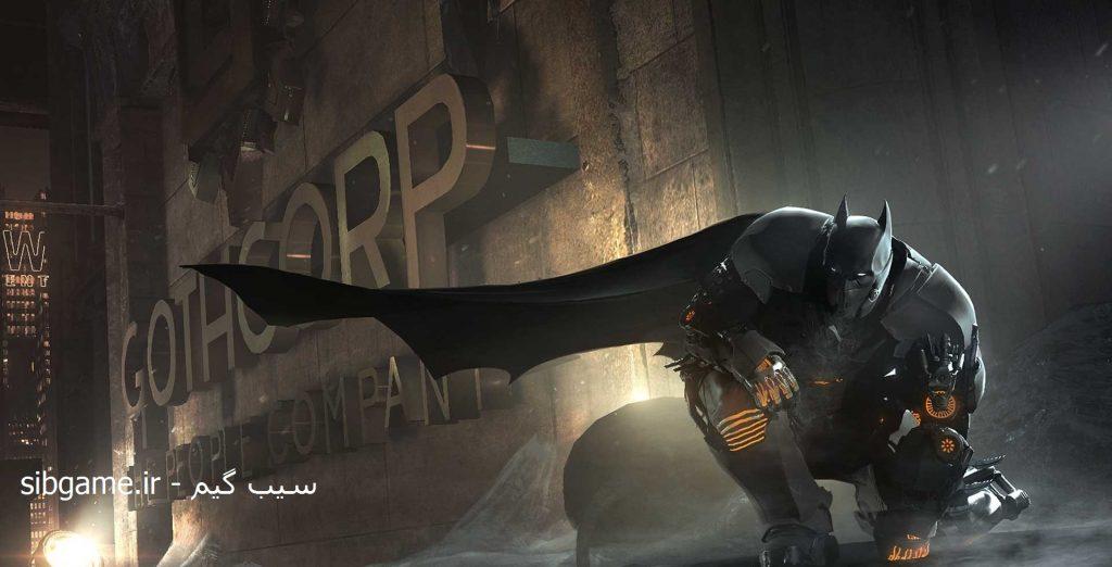 بازی Batman Arkham Origins - بتمن